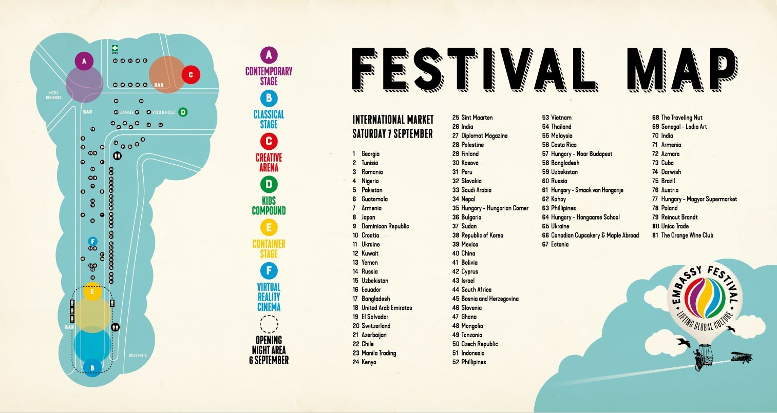 Embassy Festival 2019 - Tickets, line-up, map & info