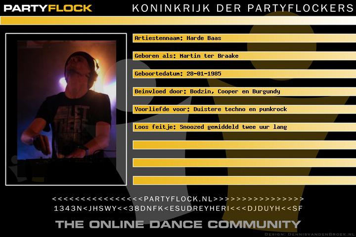 Harde Baas: Techno-dj met eigenwijze punkmentaliteit (afbeelding)