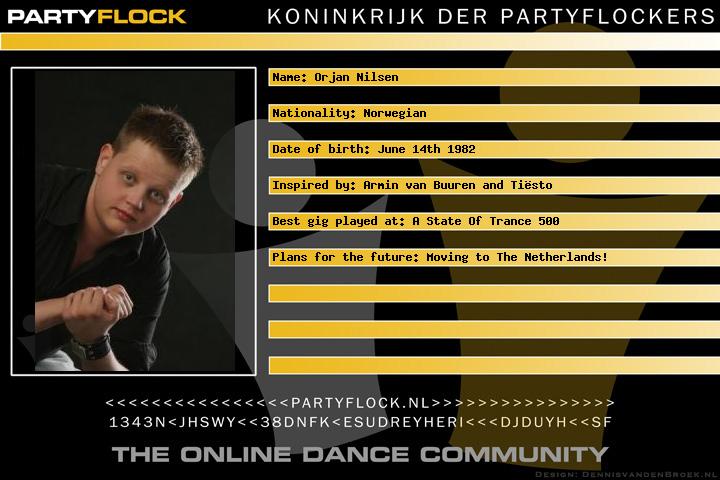 Ørjan Nilsen's 'Tour de Trance' (afbeelding)