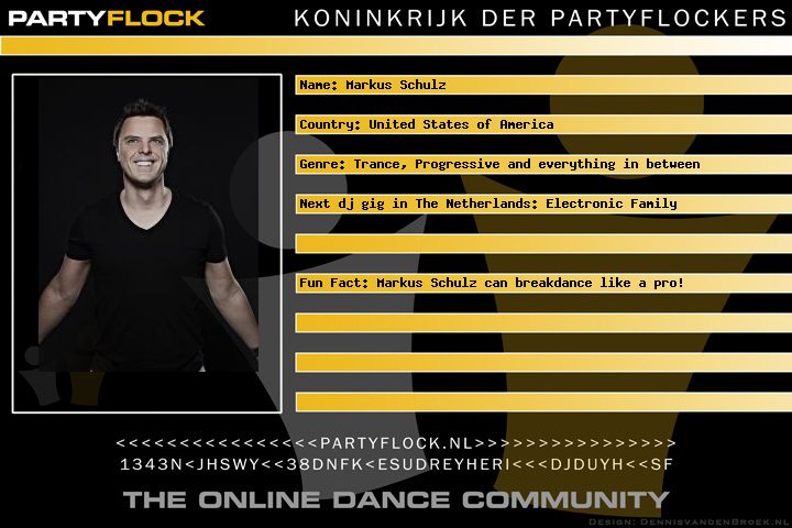 Markus Schulz: Uniting the Electronic Family (afbeelding)