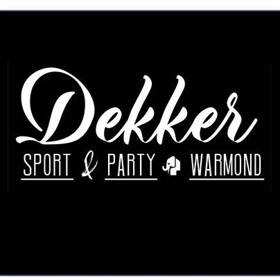afbeelding Dekker Sport & Party