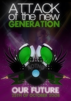 Attack of the new generation (afbeelding)