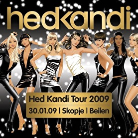 afbeelding Hed Kandi tour 2009