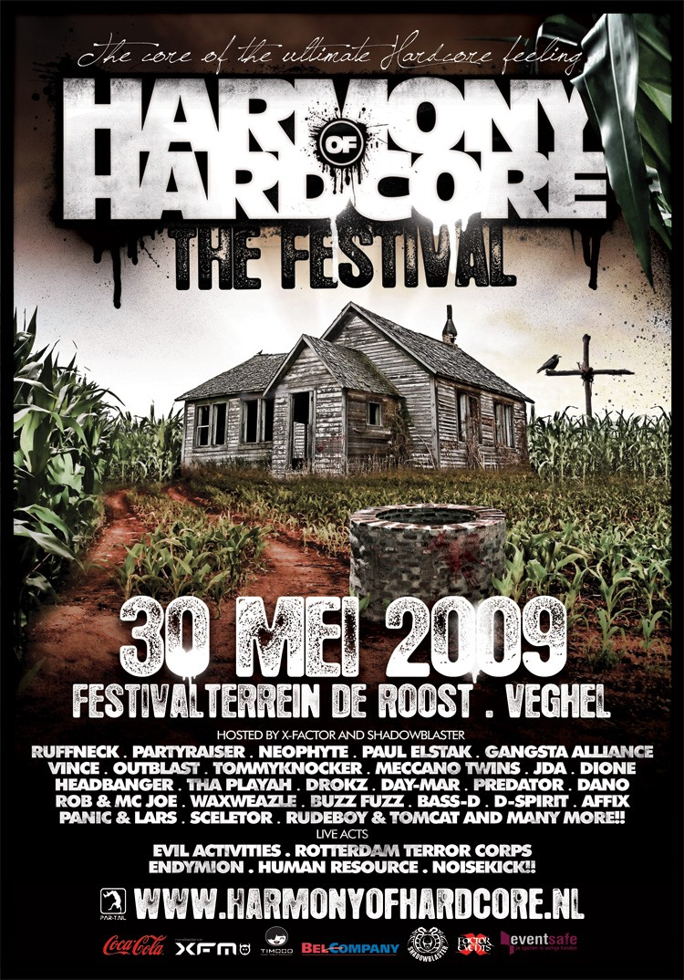 afbeelding Line-up en early bird Harmony of Hardcore The Festival