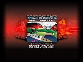 Megarave outdoor festival (afbeelding)