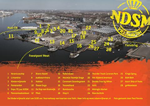 afbeelding NDSM Vrijhaven presenteert 365 dagen NDSM op Koningsdag