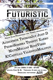Futuristic - The future in house, club and trance (afbeelding)