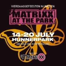 Matrixx at The Park &  nachtfeesten in 042 tijdens de Vierdaagse feesten (afbeelding)