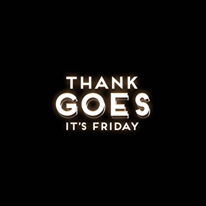 afbeelding Thank Goes It's Friday