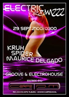 Electric Dreamzzz (flyer)
