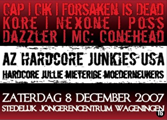 AZ Hardcore Junkies USA (flyer)