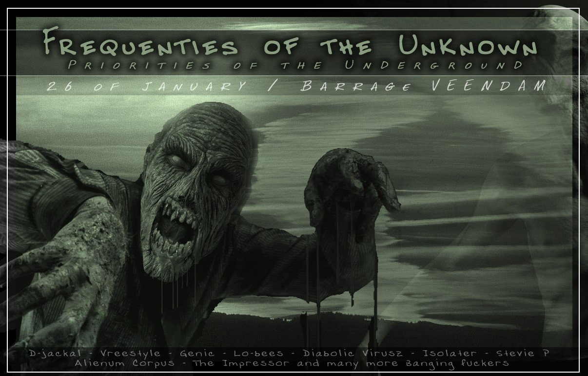 Frequenties of the Unknown (flyer)