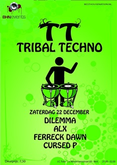 Tribal Techno (flyer)