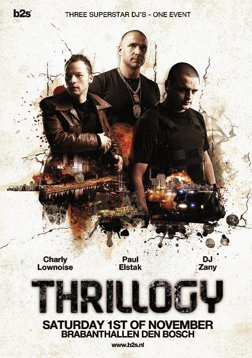 Thrillogy (flyer)