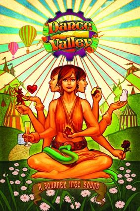 Dance Valley Festival 2008 (flyer)