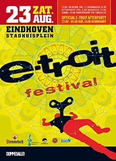 flyer E-troit Festival