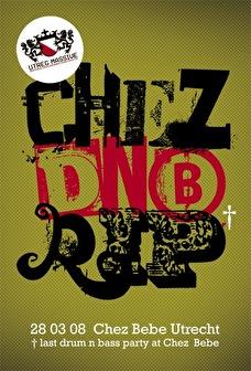 Chez DNB RIP (flyer)