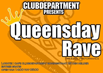Queensday Rave (flyer)