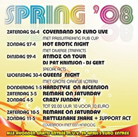 flyer Atmoz on tour