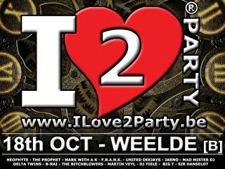 I Love 2 Party (flyer)