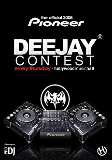 DeeJay Contest (flyer)