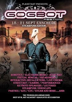 Gogbot festival (flyer)