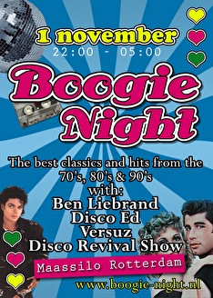 Boogie Night (flyer)