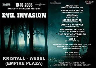 Evil Invasion (flyer)