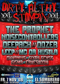 Dirty Filthy Stompin' (flyer)