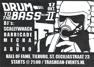 Drum to the bass (flyer)