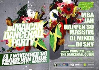 Jamaican Dancehall Party (flyer)