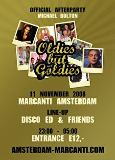 Goldies but Oldies Afterparty Michael Bolton (flyer)