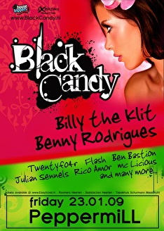 flyer Black candy
