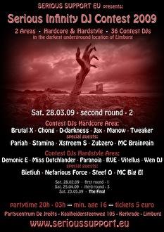 Serious Infinity DJ Contest (flyer)