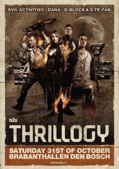 Bezoekers Thrillogy Three Solo S One Event 31 Oktober 2009