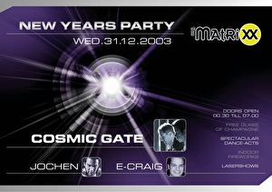 flyer New Years Party