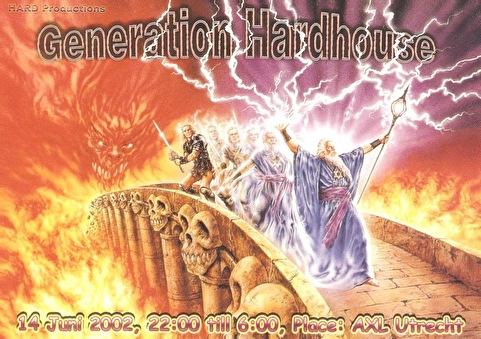 Generation Hardhouse (flyer)