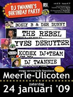 Twannie's Birthday Party (flyer)