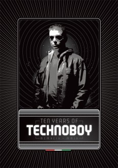 flyer 10 Years of Technoboy