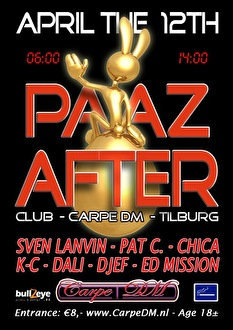 flyer 7he Real p.a.a.z After