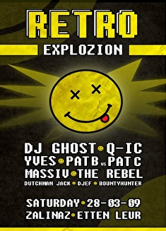 flyer Retro Explozion