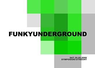 Funky Underground (flyer)