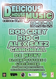Delicious House Music (flyer)
