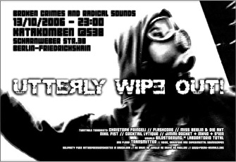 Utterly Wipe Out (flyer)
