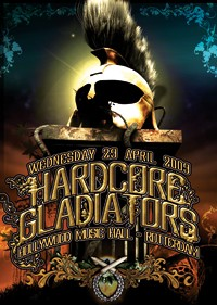 Hardcore Gladiators (flyer)
