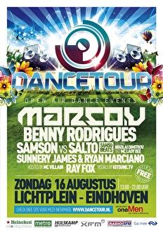 Dancetour Eindhoven 2009 (flyer)