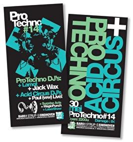 Pro Techno #14 (flyer)