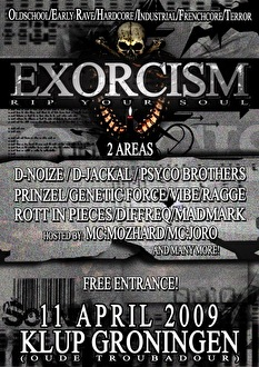 flyer Exorcism