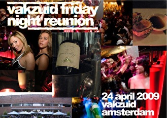 Vakzuid friday night reunion (flyer)