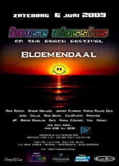 20 years House Classics Festival Bloemendaal (flyer)